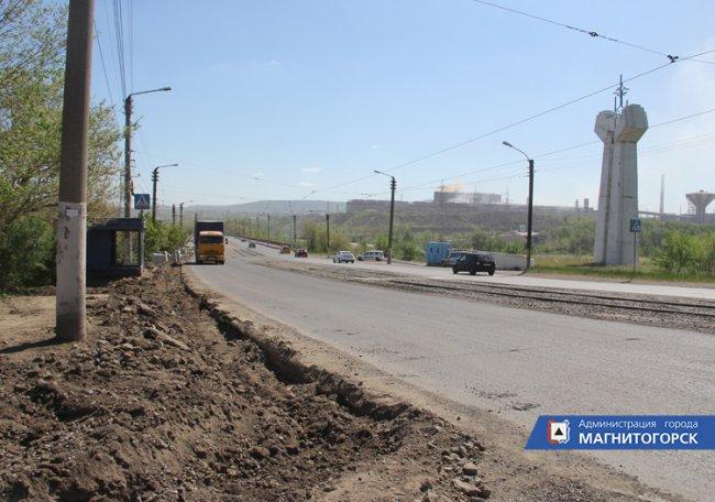 На Северном переходе начался ремонт дороги