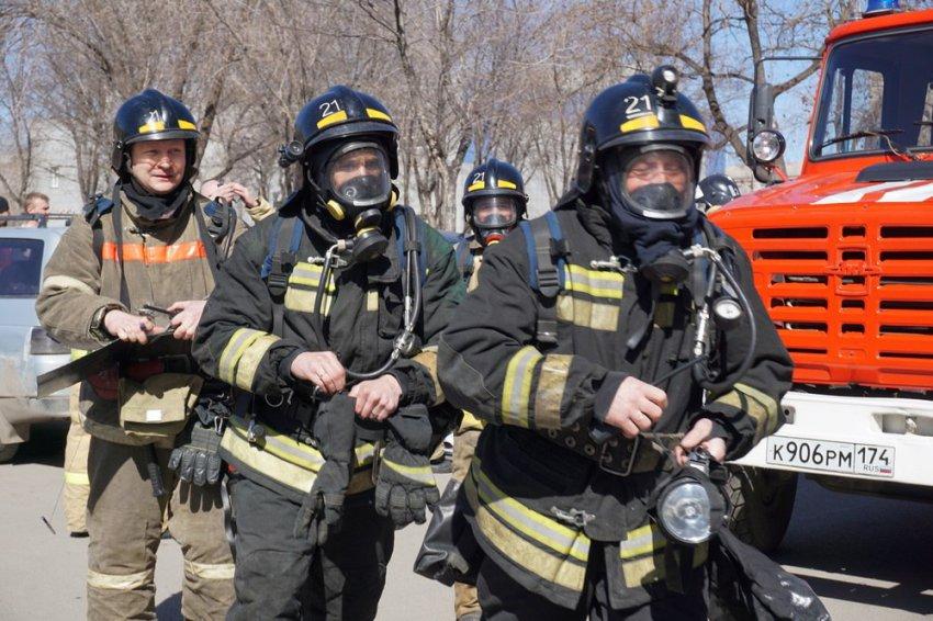В огне пострадал 41-летний мужчина
