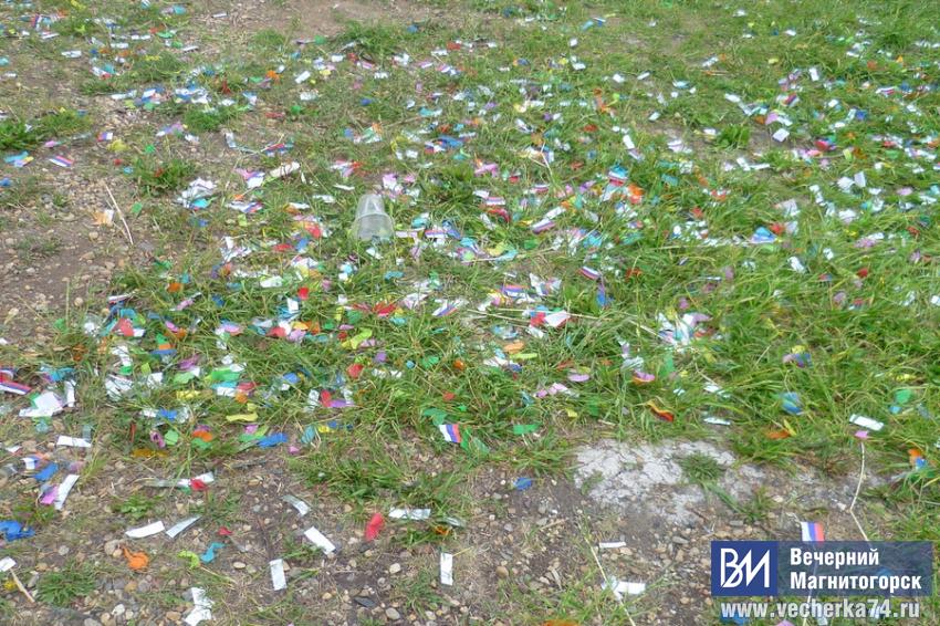 Праздник отметили, мусор оставили