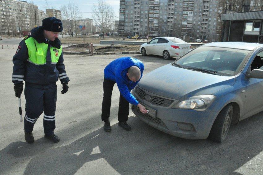 Владельцы авто с грязными номерами могут лишиться прав