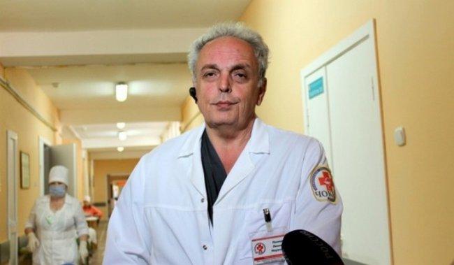 Задержан главный травматолог области