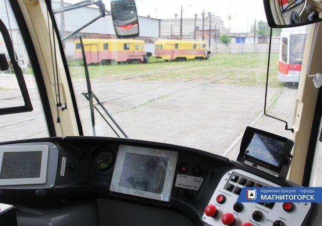 Новые трамваи вышли на линию