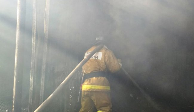 Пожар на ЦГЯ