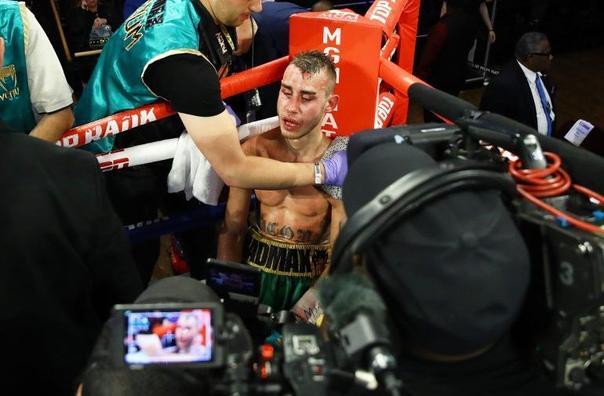 Российский боксер впал в кому после боя