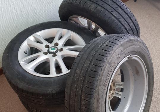 Магнитогорец украл автомобильные колеса