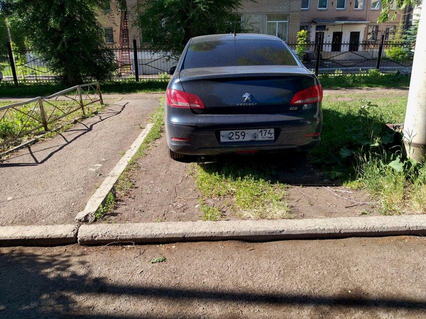 Магнитогорцев продолжают штрафовать за неправильную парковку