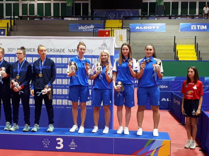 Студентка из Магнитогорска стала бронзовым призёром Универсиады