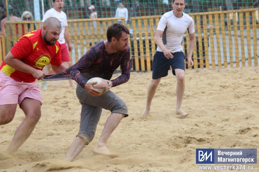В Магнитогорске состоялся чемпионат УрФО по пляжному регби