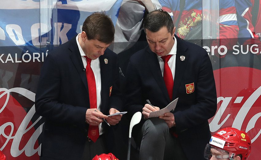 Илья Воробьёв уволен с поста главного тренера сборной России