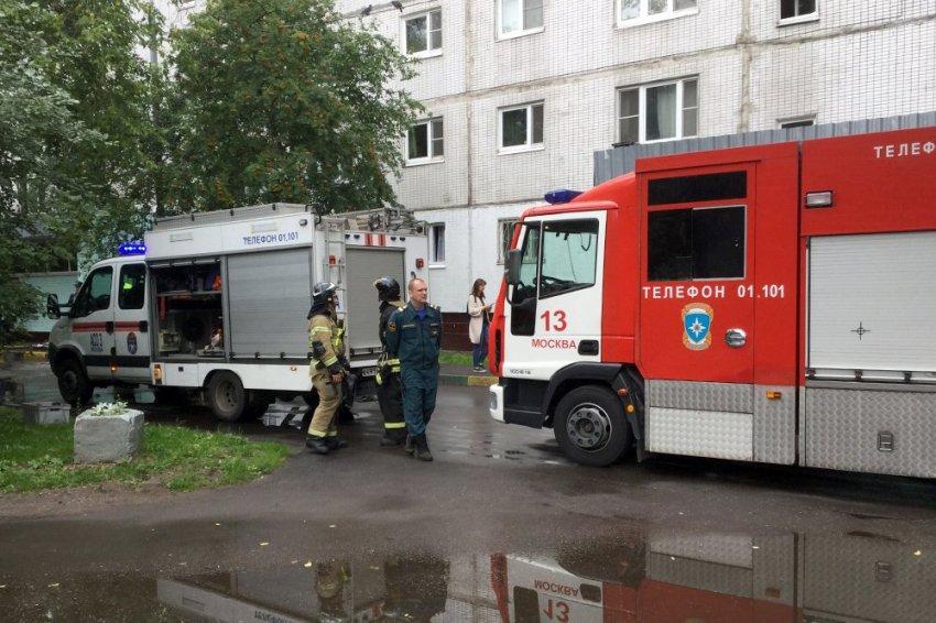 В Москве прогремел взрыв в жилом доме