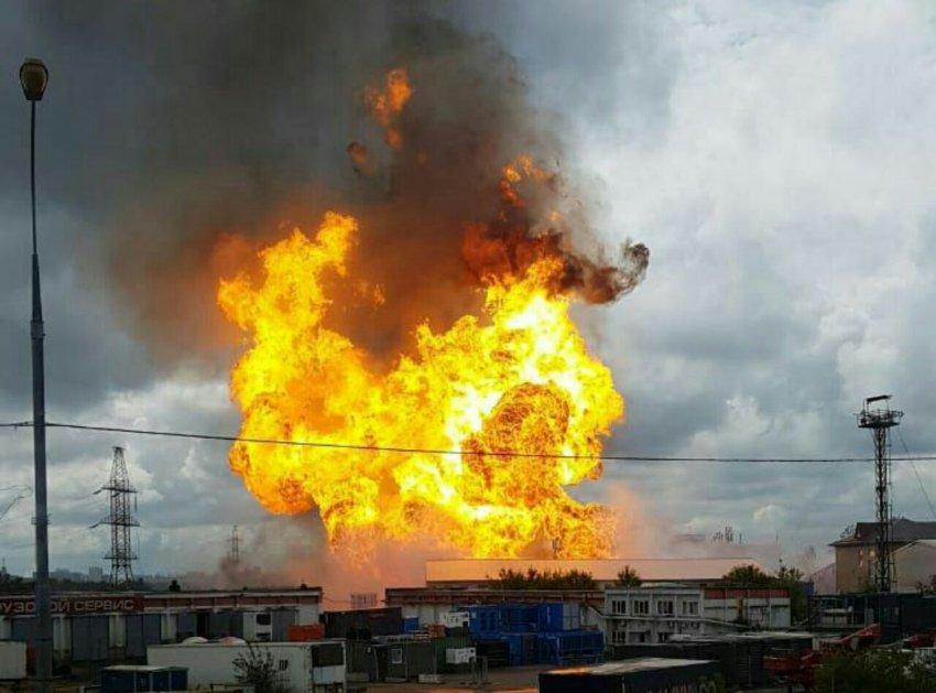 В Московской области на ТЭЦ произошёл взрыв