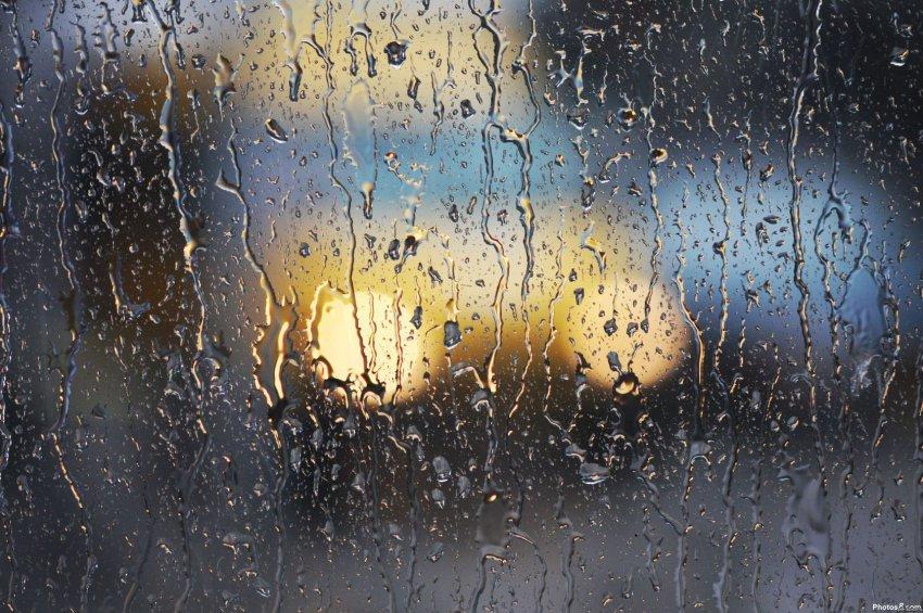Дождик капает за окном