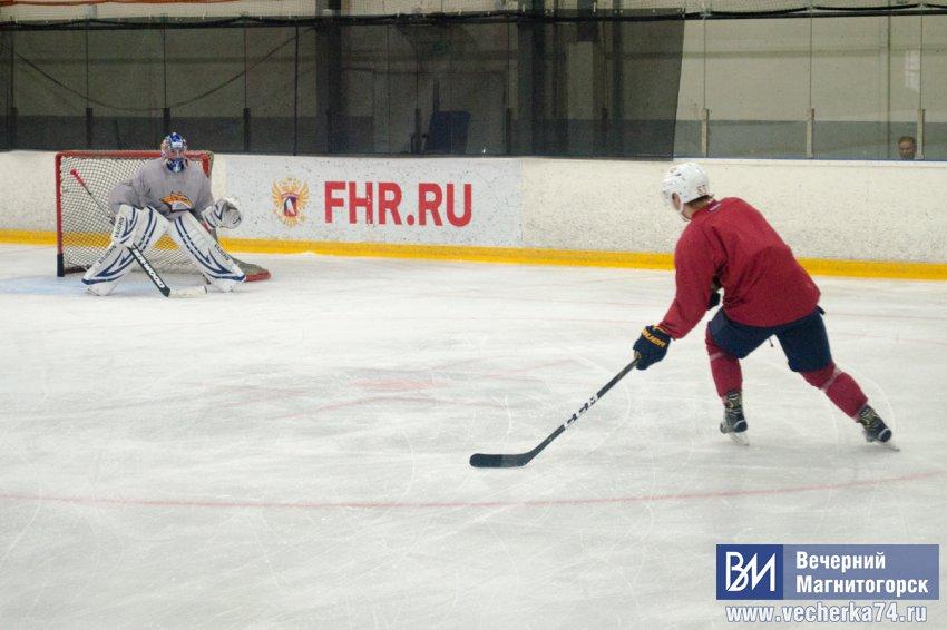 """""""Металлург"""" приступил к тренировкам на льду"""