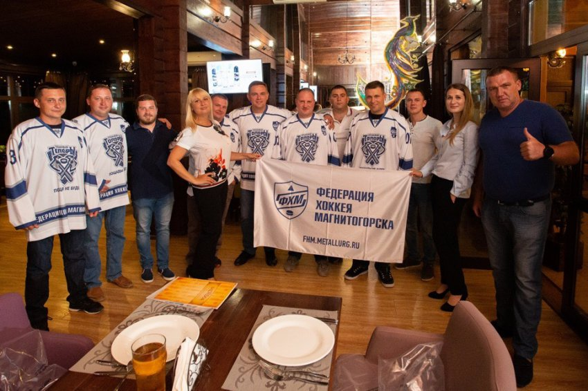 """""""Стрижей"""" посвятили в хоккеисты"""