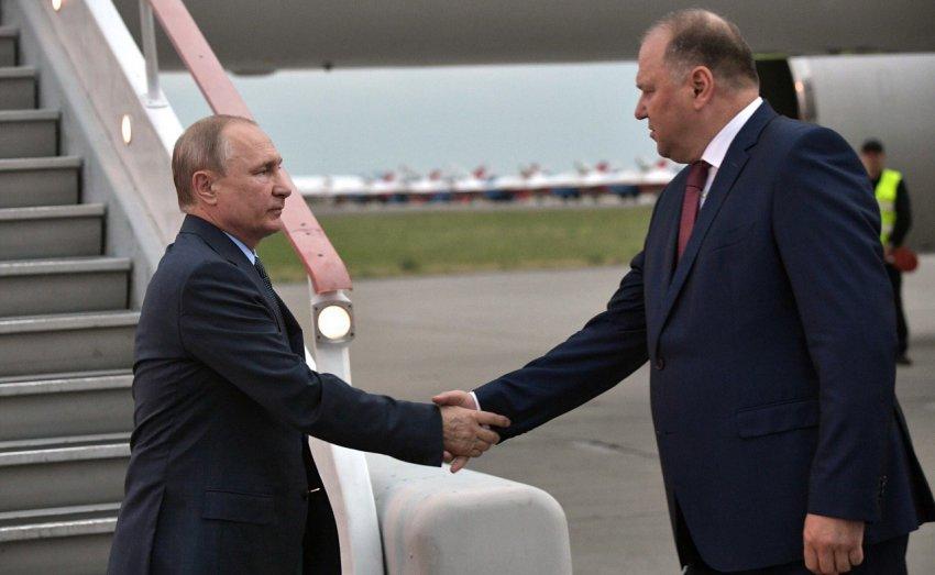 Владимир Путин побывал в Магнитогорске