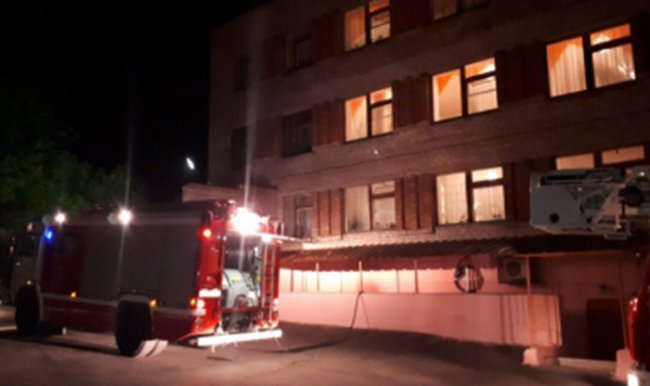 В психоневрологической больнице Магнитогорска случился пожар