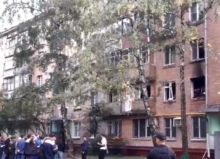 ВМЧС подтвердили хлопок газа вдоме в столицеРФ