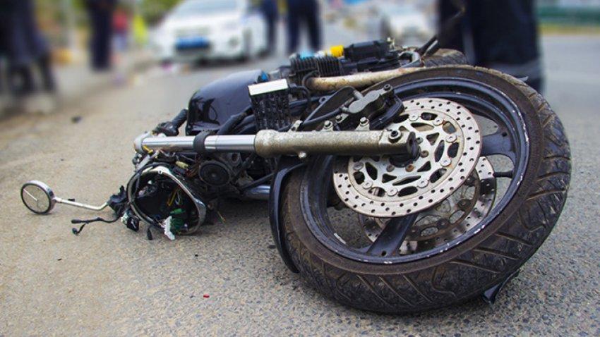 На  улице Луначарского сбили мотоциклиста