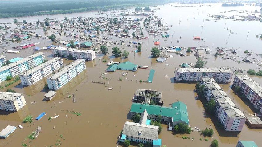 В Иркутской области пострадавшими от паводка признали 45 тысяч человек