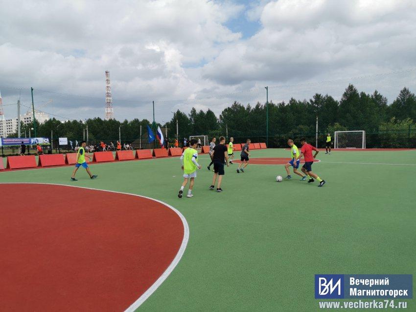 Традиционный футбольный турнир теперь в Экопарке