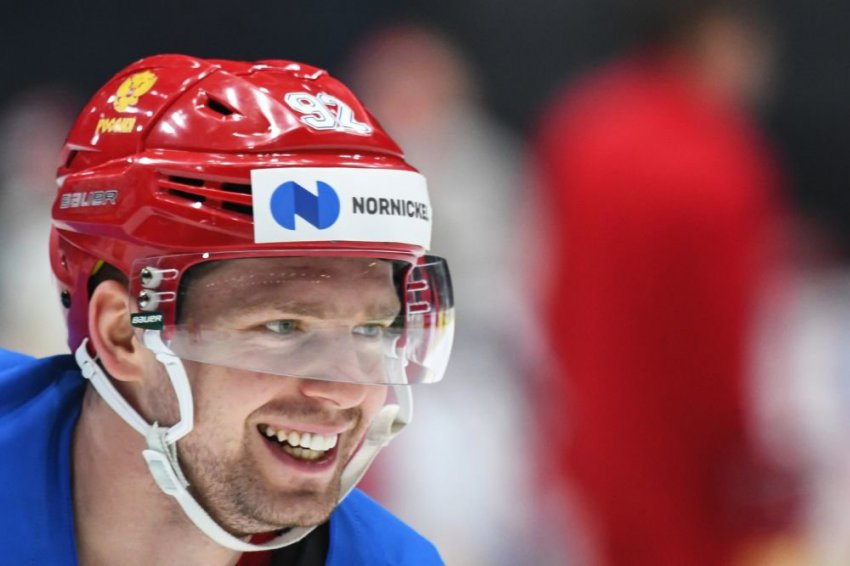 Один из лидеров сборной России по хоккею дисквалифицирован за кокаин
