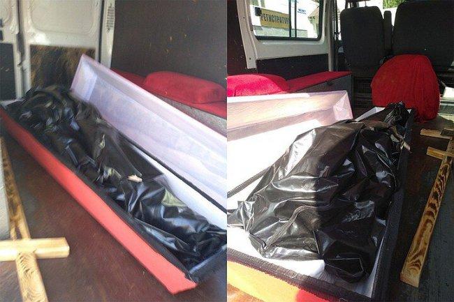 Труженицу тыла похоронили в пакете