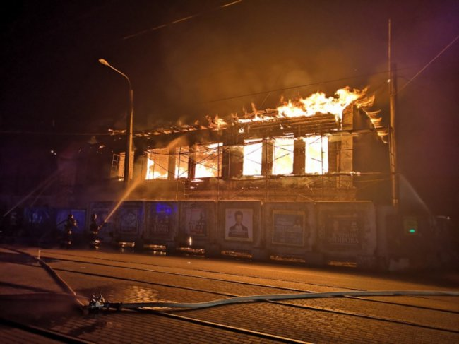 В Челябинске сгорел памятник культуры