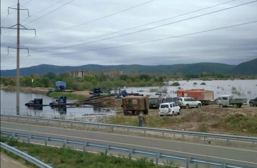В Комсомольске ухудшается паводковая ситуация