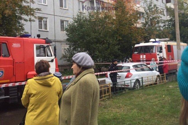 В жилом доме Красноярска прогремел взрыв