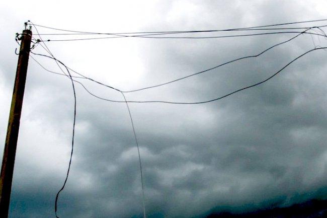 Не подходите к проводам!