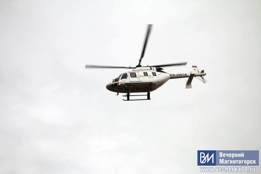 Экстренно доставили в Челябинск