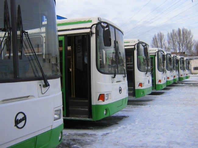 В городе пустят автобусы