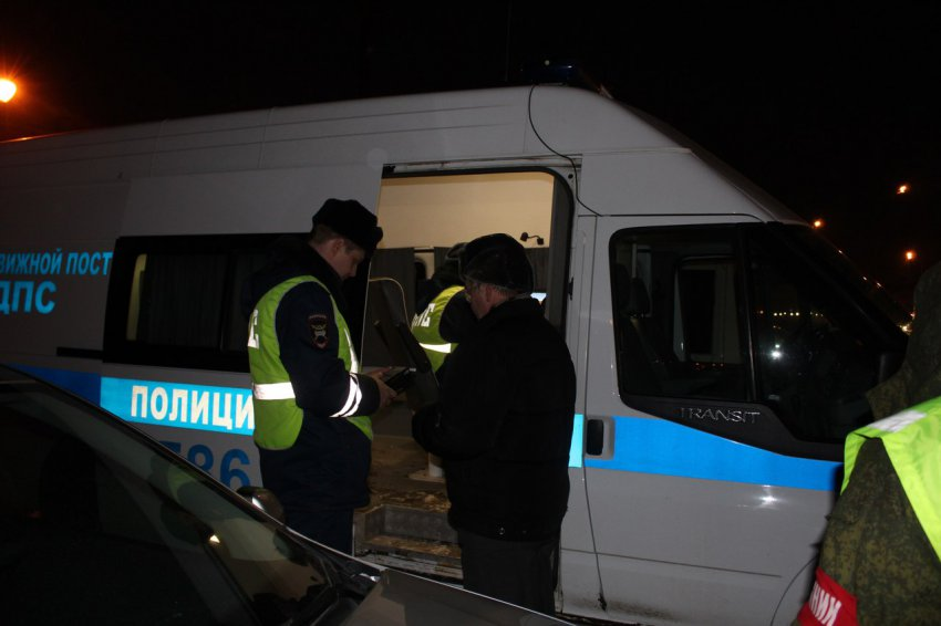 Выявлено 159 водителей в состоянии опьянения