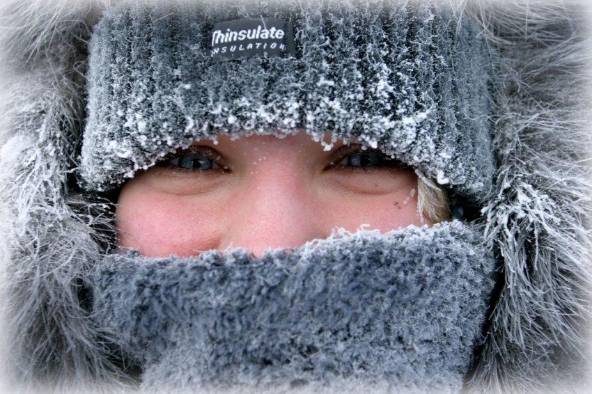 Мороз уже стучится в двери