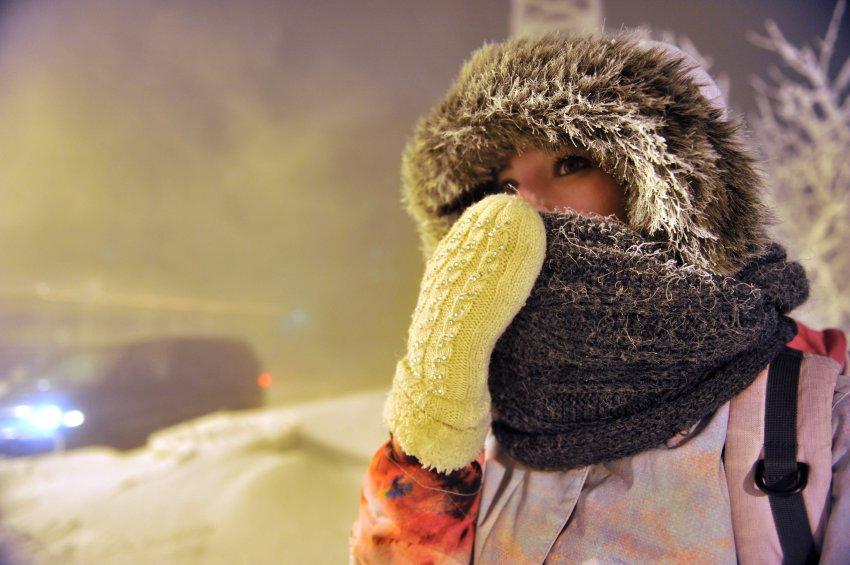 Сильные морозы уже на подходе