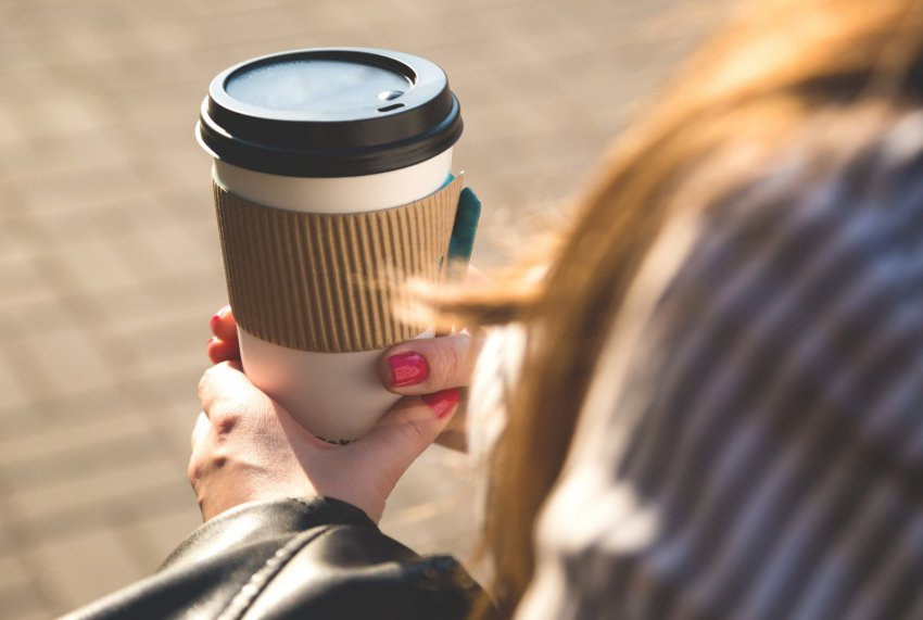 Выпил кофе - съел стакан