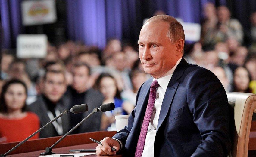Президент ответит на вопросы журналистов