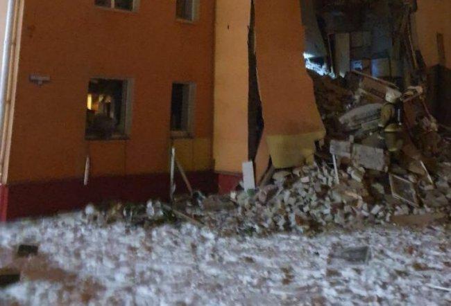 В жилом доме Белгорода произошёл взрыв