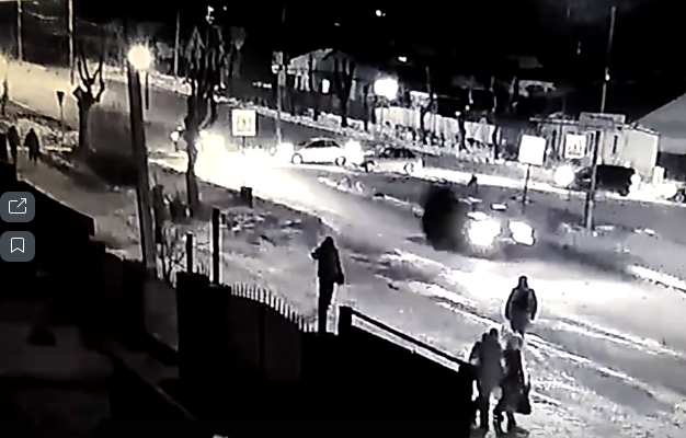 Пьяный водитель сбил пешехода