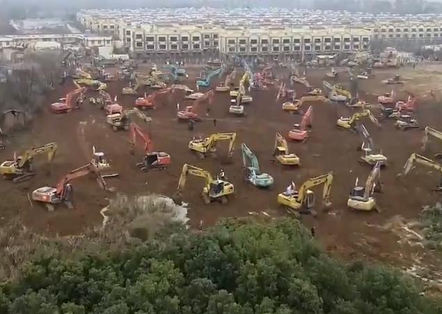 В Ухане построят больницу за 6 дней
