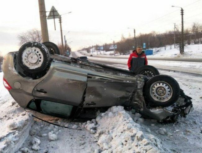 Две девочки пострадали под колёсами автомобиля