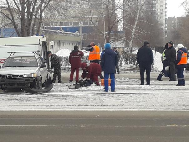 На проспекте Карла Маркса сбили пешехода