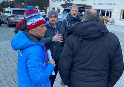 К российским биатлонистам пришли с обыском