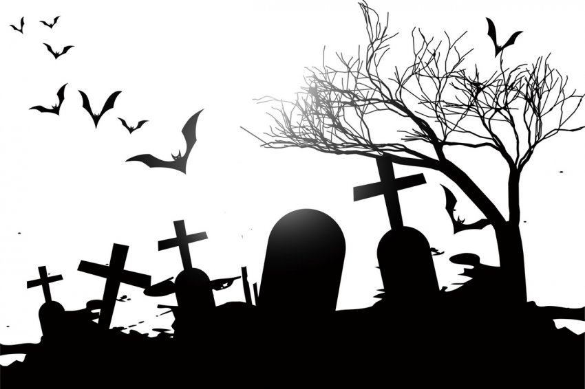 Случай на старом кладбище