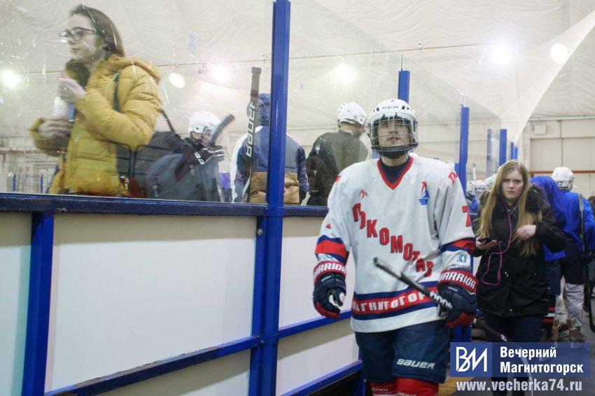 Хоккей закаляет характер!