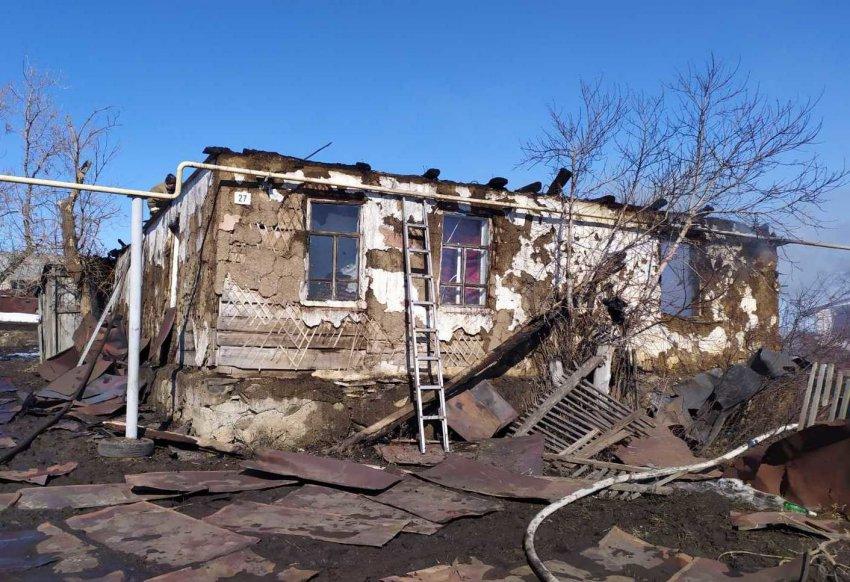 Двухлетний ребёнок погиб в пожаре