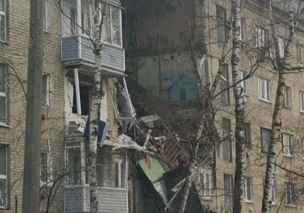 В Подмосковье в жилом доме произошёл взрыв