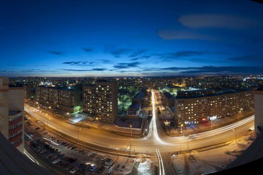 Мой город на Урале…