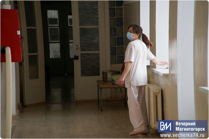 В больнице с Covid-19 лежат 220 человек