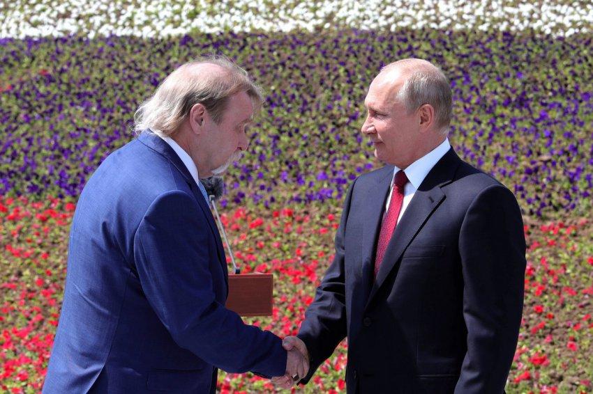 В День России получил звезду